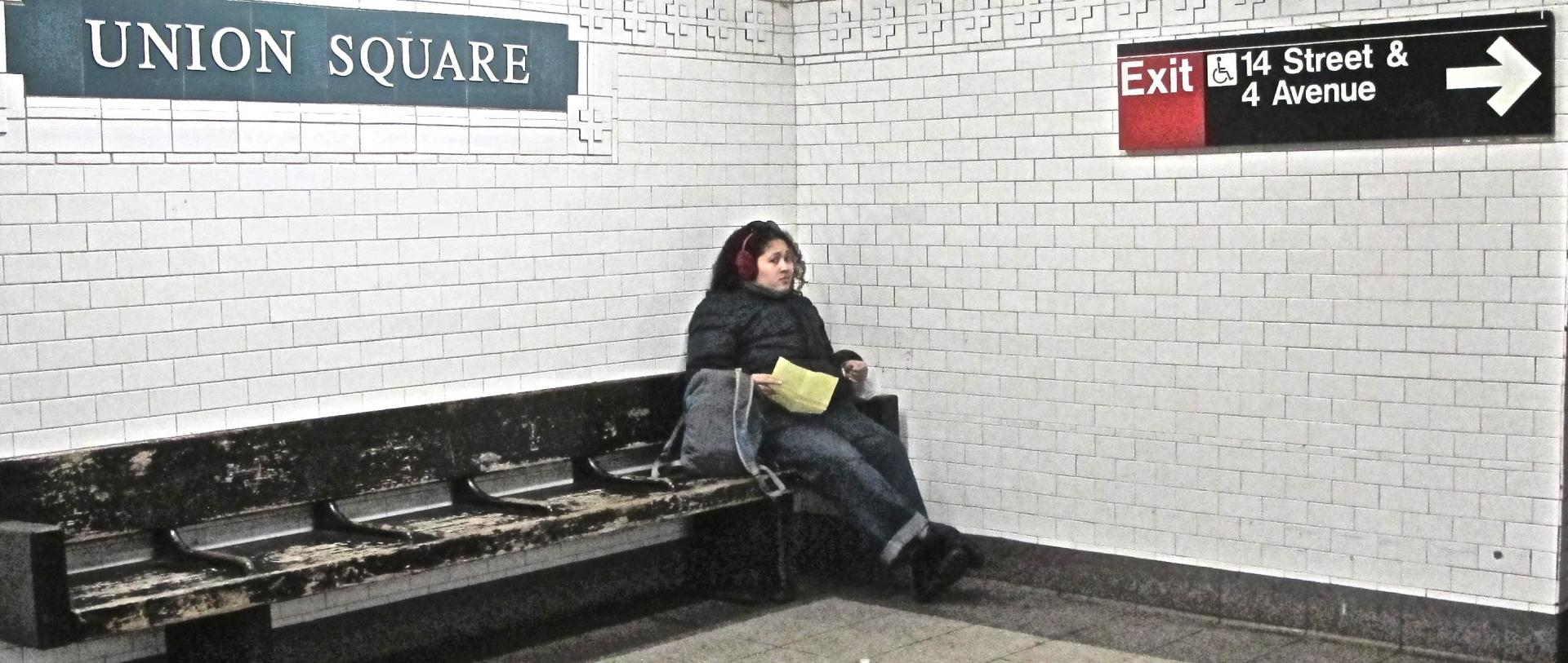 """Union Square Station"" NYC 2015"